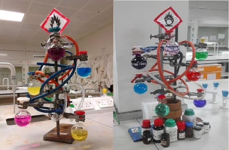 Chemistree. Navidad en el laboratorio de química