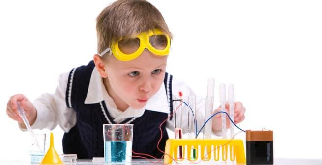 Divulgación científica para niños