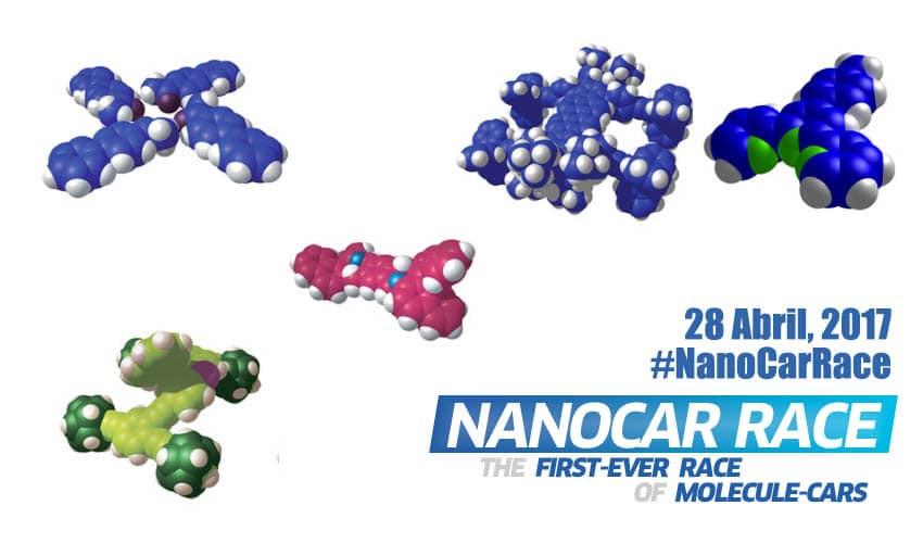Nanocar Race: la Fórmula 1 a escala de nanómetro