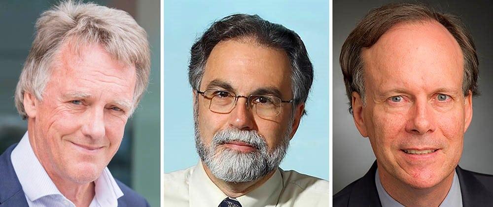 William Kaelin Jr., Sir Peter Ratcliffe y Gregg L. Semenza