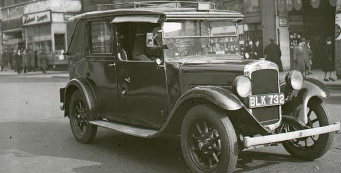¿Qué relación hay entre los taxis y la Segunda Guerra Mundial?